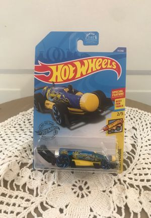 Hot Wheels CARBONATOR Fast Foodie Blue/Yellow/Black w/Blue RA Spoke for Sale in Stroudsburg, PA