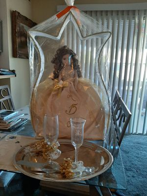 Quinceanera doll for sweet 15 birthday party for Sale in Las Vegas, NV
