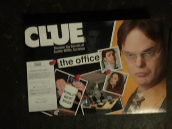 Clue The office board game