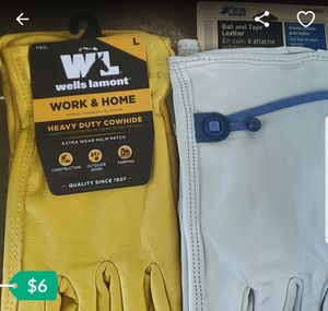 Leather gloves for Sale in Ontario, CA