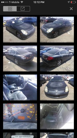 2004 Infiniti G35 parting out for Sale in Phoenix, AZ