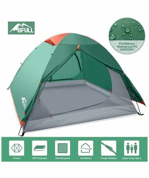Camping Tents 2-3 Person Lightweight Backpacking Tents for Hiking Camping Outdoor Travel, Waterproof Pestproof Windproof Double Layer Dome Tent for Sale in Rancho Cucamonga, CA