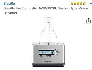 Electric hyper speed decanter for Sale in Sudley Springs, VA