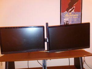Lenovo brand 22 inch monitors set of 2 for Sale in Denver, CO