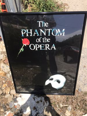 """ phantom of the opera plastic picture frame "" for Sale in Lancaster, PA"