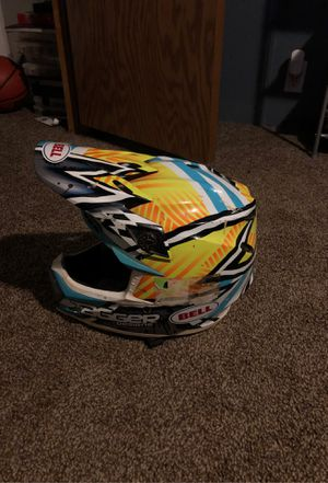 Tagged design bell moto 9 helmet for Sale in Fairview, WV