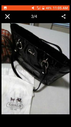 Coach purse. Black. Coach bag for Sale in NEW PRT RCHY, FL