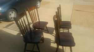 Solid walnut chairs for Sale in Fenton, MO