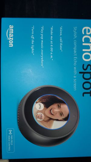*NEW UNOPENDED* Amazon Echo Spot with Screen for Sale in Phoenix, AZ