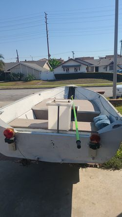 western aluminum 13f boat for Sale in Westminster,  CA