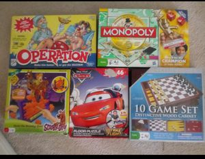 5 board games/big puzzle for Sale in Las Vegas, NV