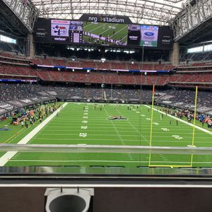 Front Row Mezzanine on Aisle - Texans vs Colts for Sale in Houston, TX