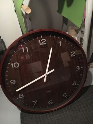 Oversized wall clock for Sale in St. Louis, MO