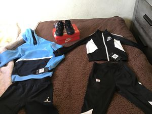 sweatsuits set & shoes for Sale in Los Angeles, CA