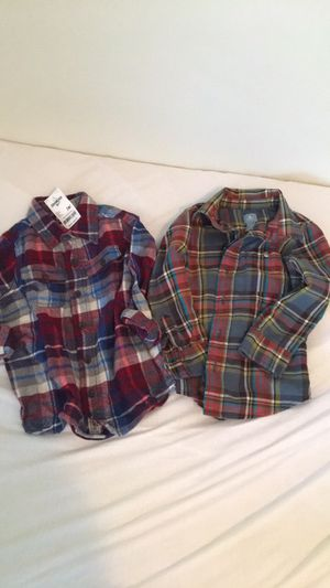 2 shirts - 3T toddler boy with tags for Sale in Chapel Hill, NC