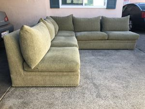 Beautiful sectional sofa . Great condition . Moving special .Ask about delivery for Sale in Tustin, CA