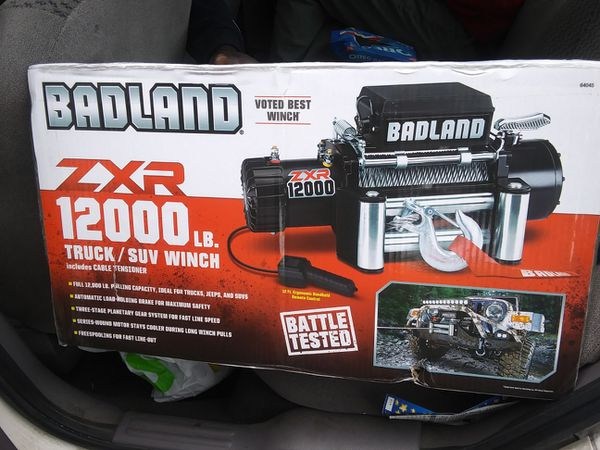 BADLAND ZXR 12000 Truck and SUV WINCH