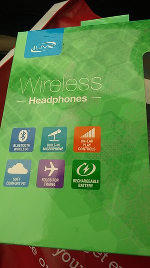 Brand New in box wireless Bluetooth headphones built in mic for Sale in Silver Spring, MD