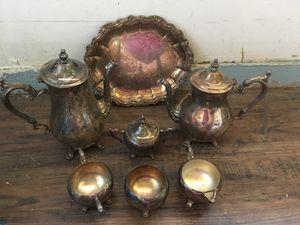 Tea set silver for Sale in San Antonio, TX