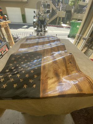 Hand crafted American wavy Flag for Sale in Lake Forest, CA