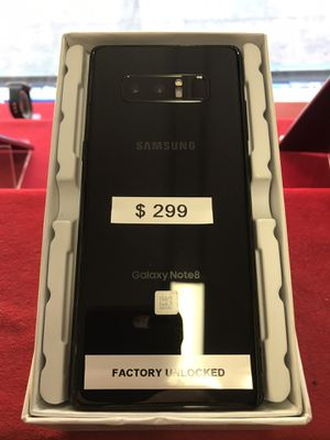 Samsung Galaxy Note 8 64gb Factory Unlocked for Sale in The Bronx, NY