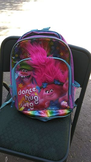 Trolls backpack for Sale in Fresno, CA