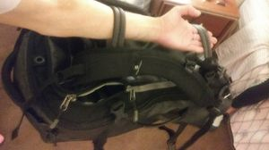 Waterproof EagleCreek back pack that converts into duffle bag for Sale in Seattle, WA