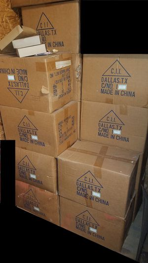 16 cases of light & ceiling fan shades for Sale in Fall River, MA