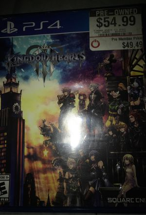 Kingdom Of Hearts Ps4 for Sale in Chicago, IL