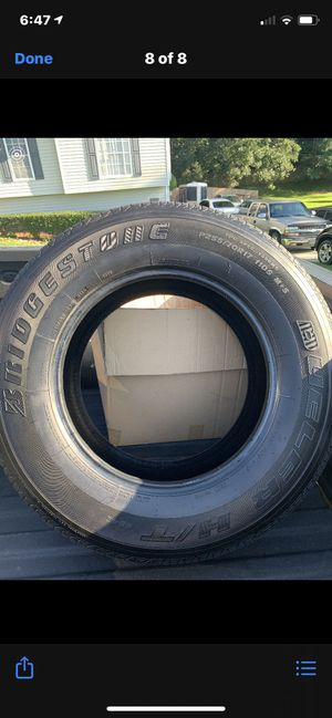 Bridgestone P225 70R 17 for Sale in Riverdale, GA