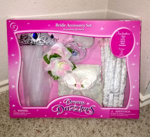 Bride Accessory Set (Have New Wedding Dress Costume too) Brand New in Packaging for Sale in Austin, TX