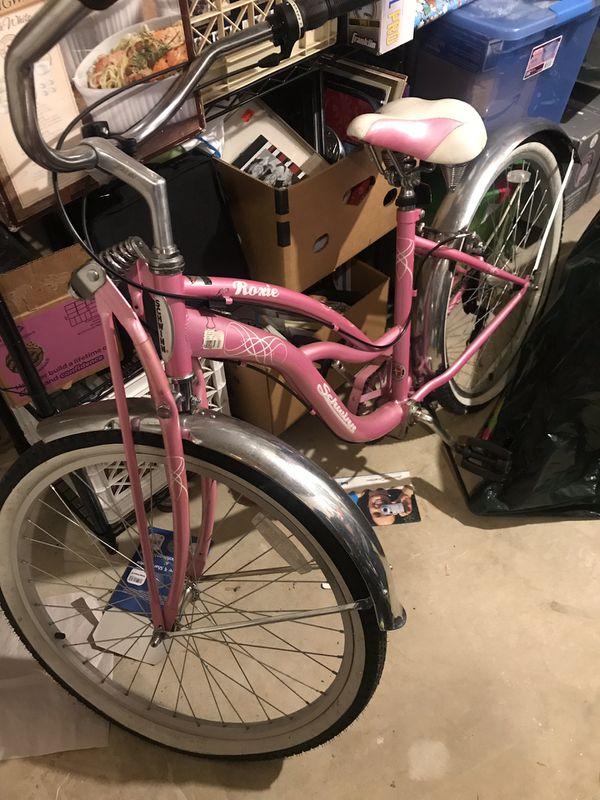 Retro Schwinn Pink Bike