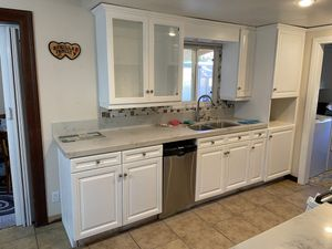 Kitchen cabinets I can make your kitchen look like new again for Sale in Whittier, CA