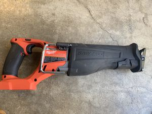 Milwaukee M18 FUEL 18-Volt Lithium-Ion Brushless Cordless SAWZALL Reciprocating Saw (Tool-Only for Sale in Battle Ground, WA