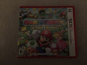 Mario Party Star Rush (used once) Super Smash 3ds for Sale in Brentwood, TN