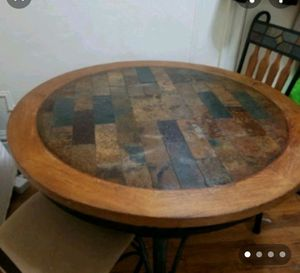 Dining table with 4 chairs for Sale in New York, NY