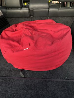 Pottery Barn Kids Red Bean Bag Chair for Sale in Vernon Hills, IL