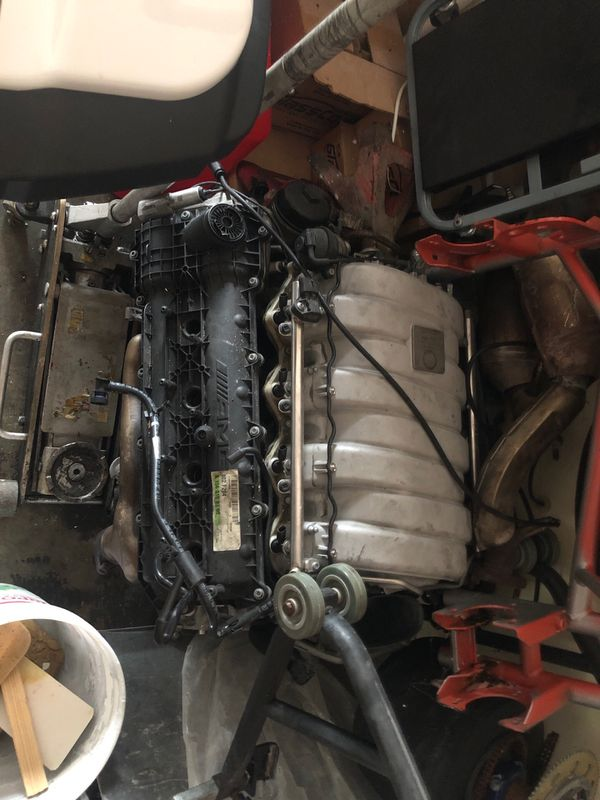 2012 Mercedes C63 motor for parts