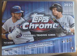 🔥🔥 SEALED 2020 Topps Chrome MLB Blaster Box 🔥🔥 for Sale in Waukee, IA