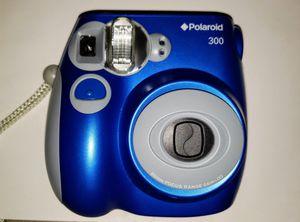New Unused Royal Blue Polaroid 300 Instant Film Camera - NWOB for Sale in Temecula, CA