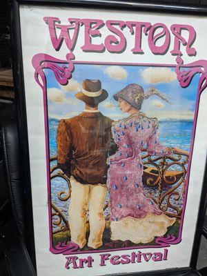 Poster framed. for Sale in Fort Lauderdale, FL