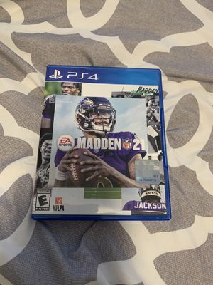 Madden 21 for PS4 like new adult owned for Sale in Cutler Bay, FL