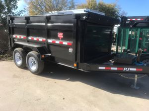 2020 BRAND NEW PJ 12x83 DUMP TRAILER *100% APPROVAL NO CREDIT CHECK* for Sale in Lewisville, TX