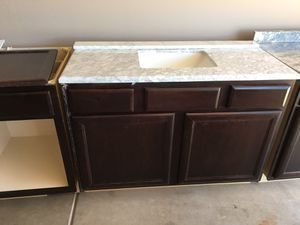 48 kitchen sink with cabinet plus extra cabinets for Sale in Sun City, AZ