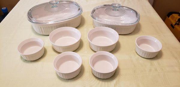 Corningware. Set.