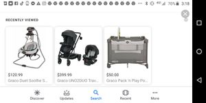 Car seat and double stroller combo for Sale in Worcester, MA