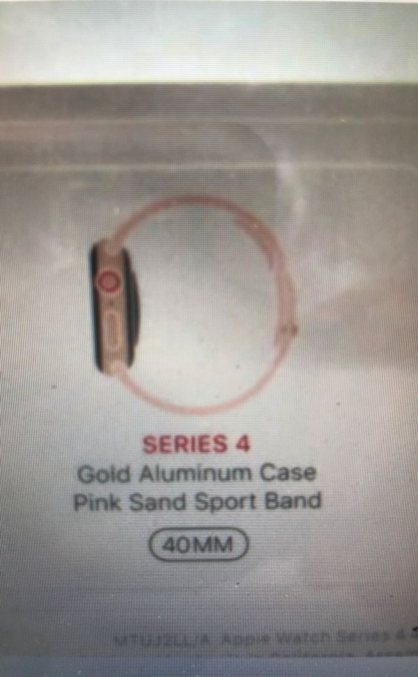 Apple watch series 4 40mm cellular + gps