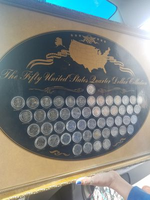 50 state quarter dollar collection for Sale in Modesto, CA