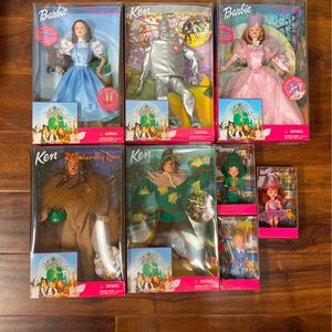 Wizard of Oz Barbie set of eight for Sale in Claremont, CA