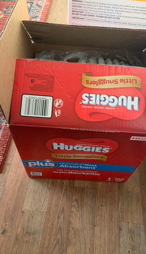 Huggies: little snugglers size 1 for Sale in San Diego, CA